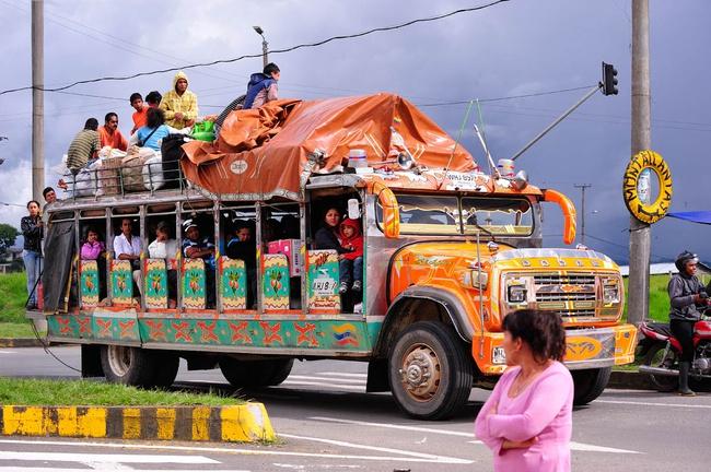 Транспорт в Колумбии