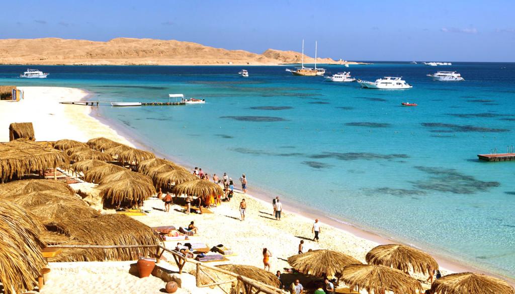 Пляж Хургада