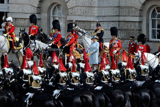 День Рождения Королевы Велкобритании