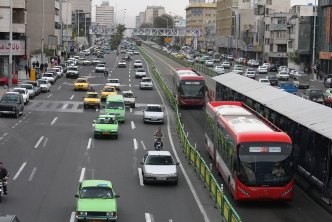 Иран транспорт