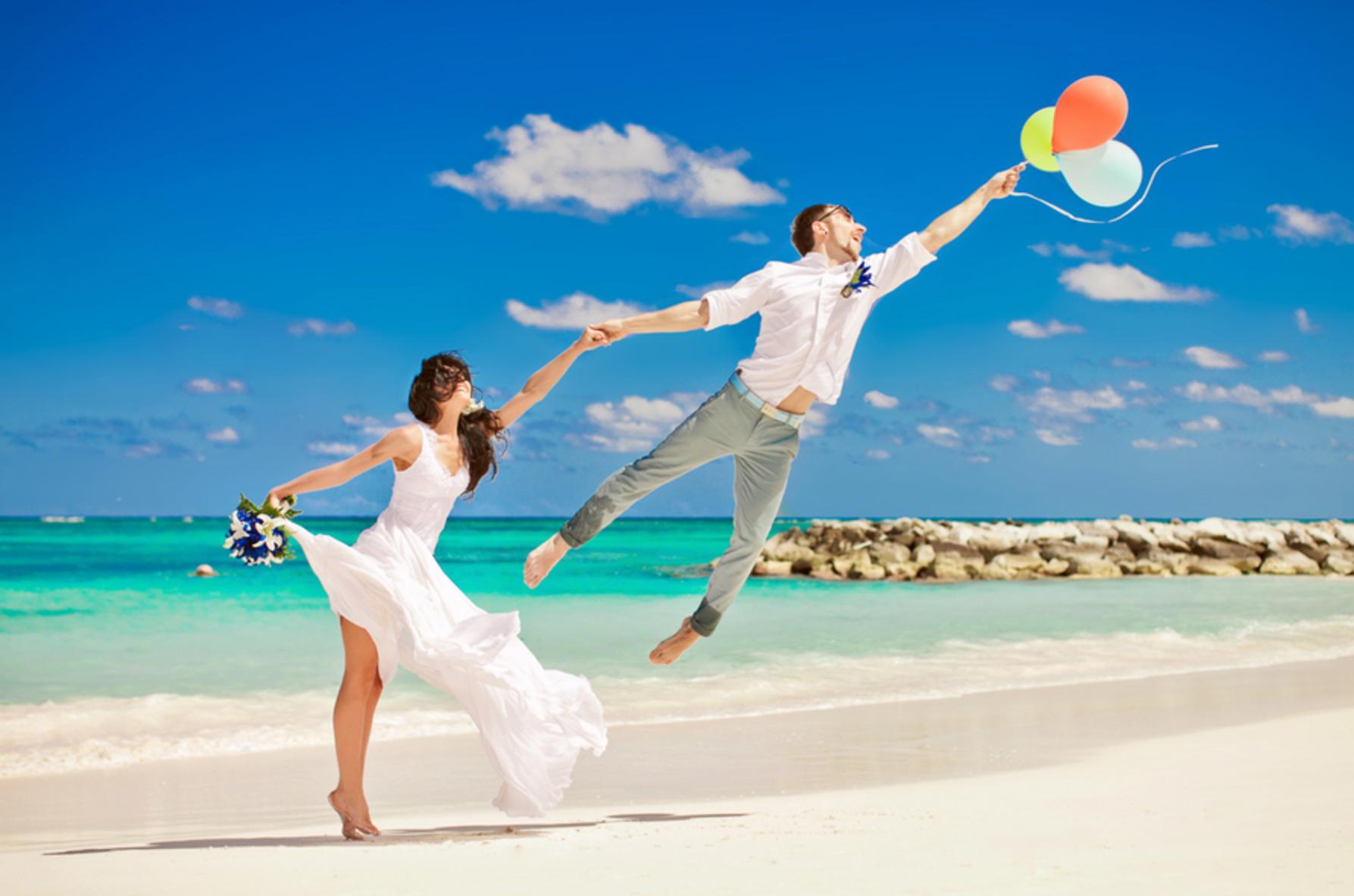 Идеи для свадебных на море 63