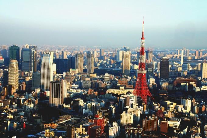 Токио, центр