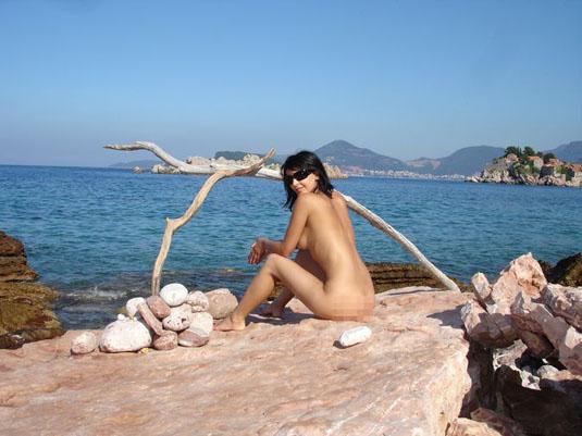 Голые девушки на пляже  160 фото Нудисткие и