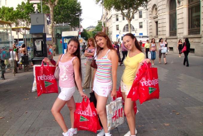 шоппинг в испании