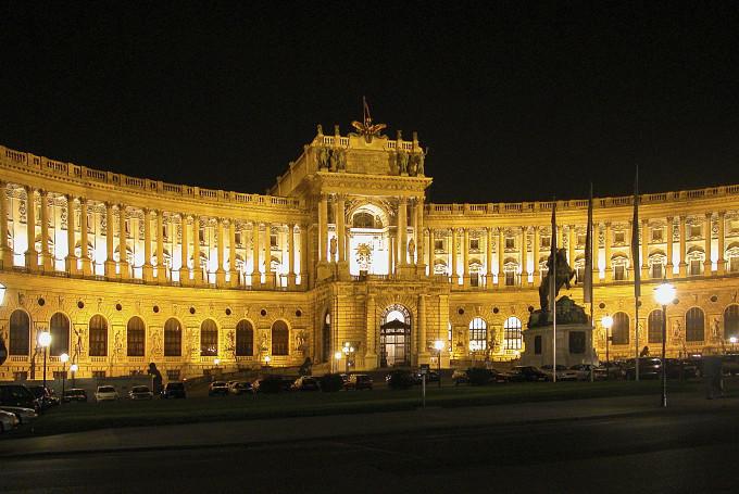 Дворец Хофбург