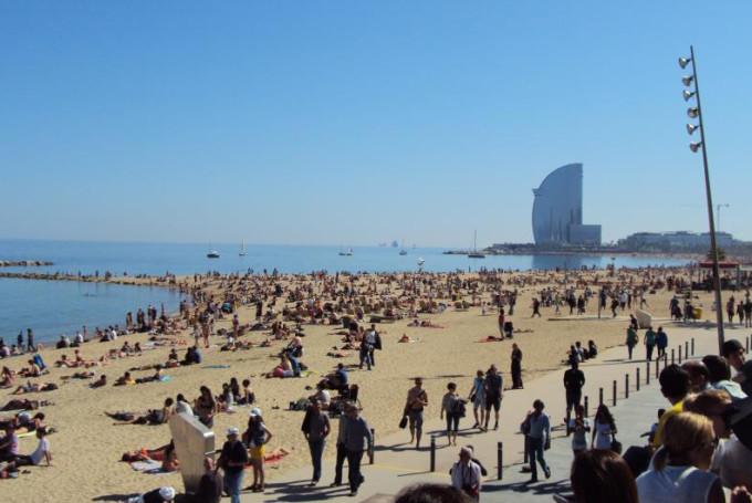 Погода в Барселоне в апреле