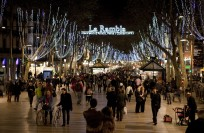 Барселона в декабре
