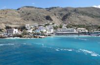 Крит в январе