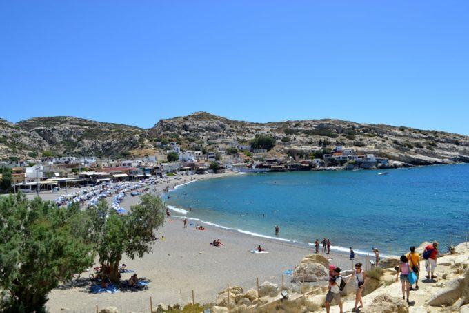 Крит в мае