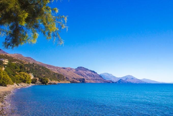 Погода на Крите в августе