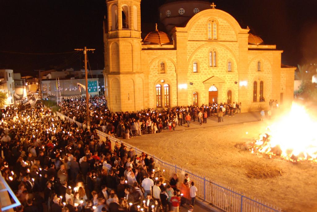 Празднование Пасхи на Кипре