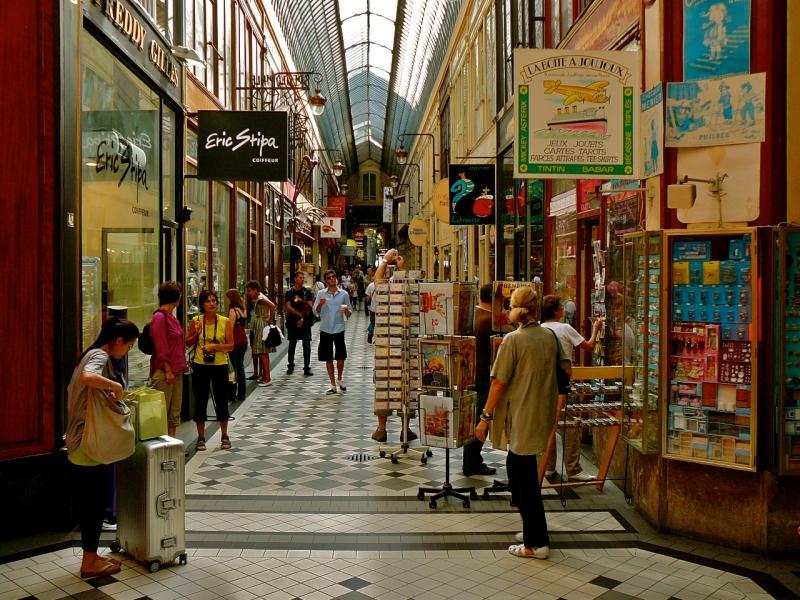 Пассаж Jouffroy, Париж