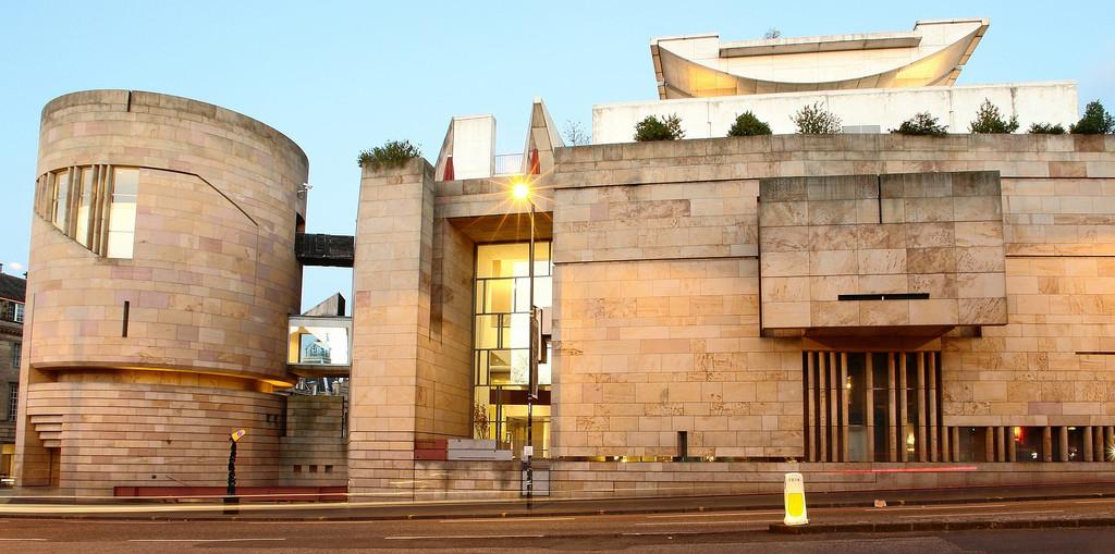 Национальный Музей Шотландии в Эдинбурге