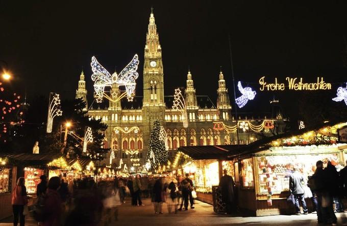 Новый год и Рождество 2017 в Австрии