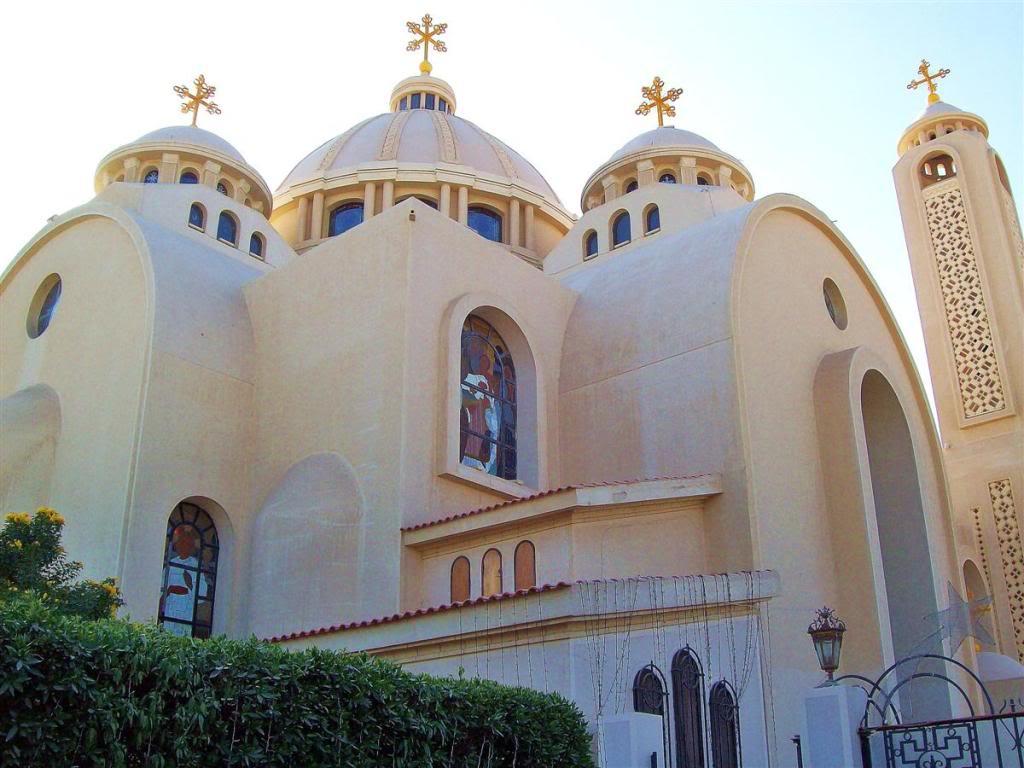 Коптский храм в Шарм-эль-Шэйхе