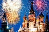 Новый год 2017 в Москве