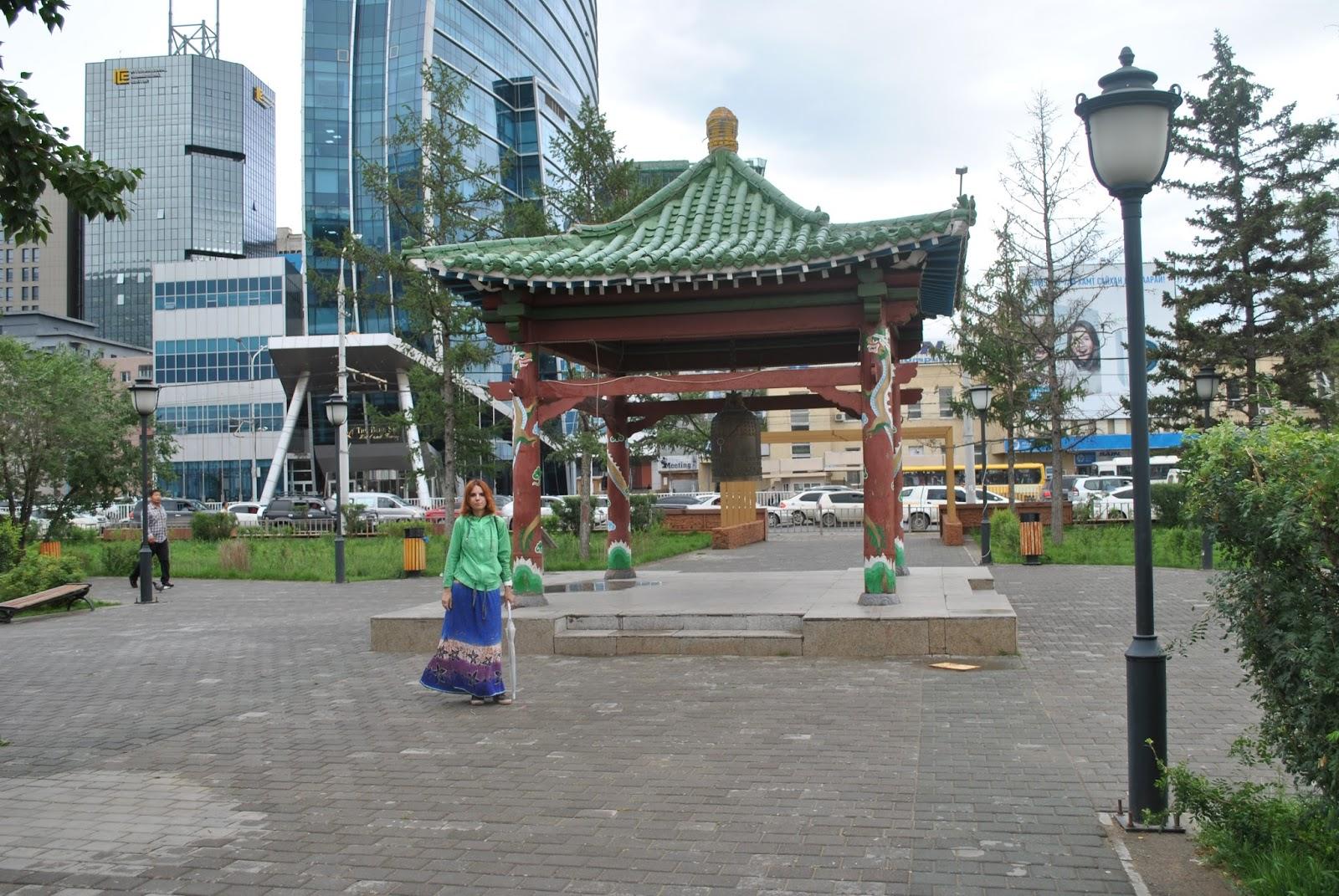 Колокол мира в Улан-Баторе