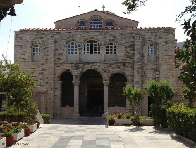 Храм Богоматери. Парос