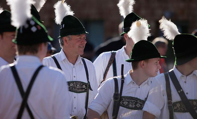 Национальный костюм, Бавария