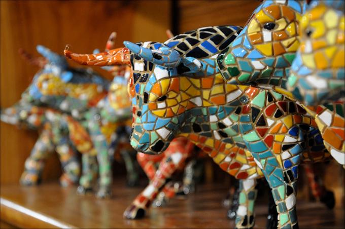 Сувенирный бык