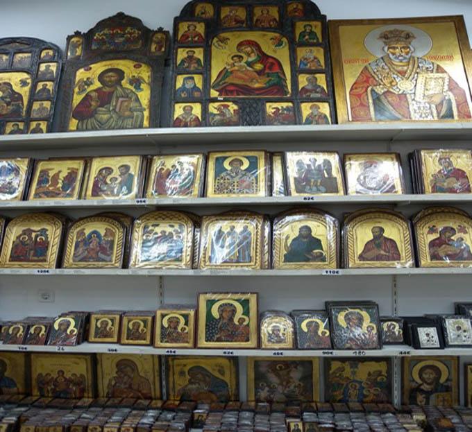 Что привезти из Греции:  Иконы из Греции