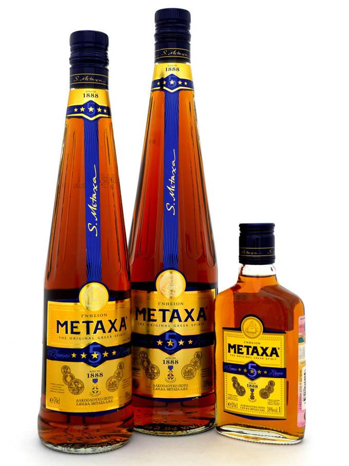 Что привезти из Греции:  Коньяк Метакса
