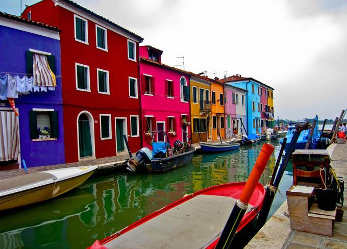 Венето: Остров Бурано, Венеция