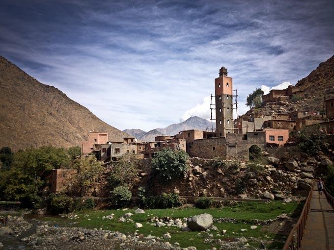 Сетти Фатма, Марокко