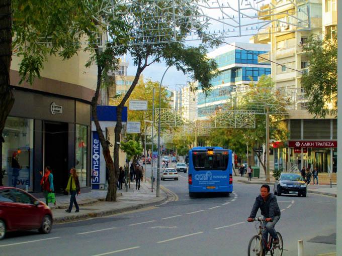 Авеню Макариос, Никосия