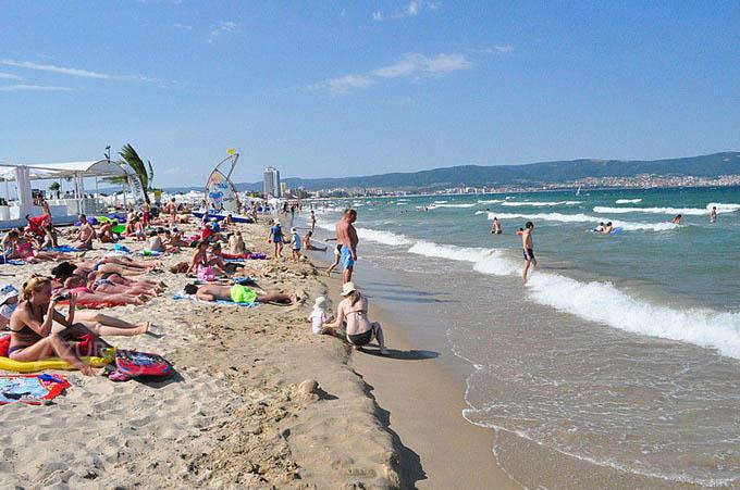 Пляж в Несебре