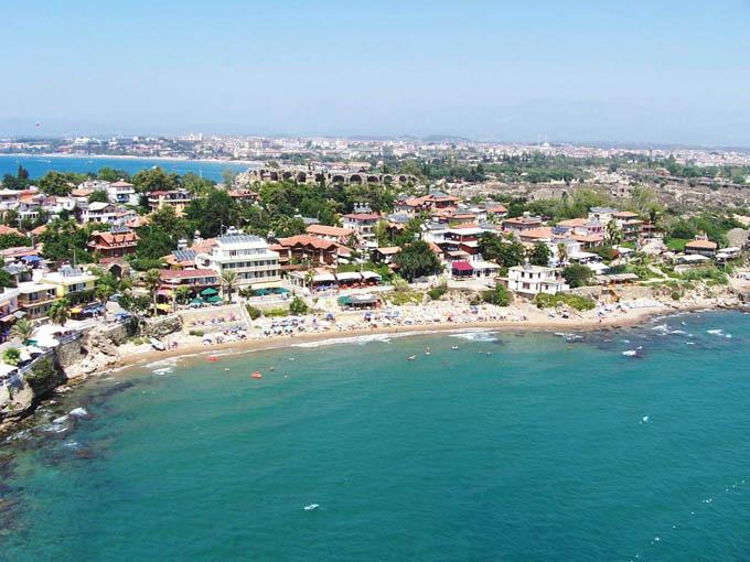 Пляжи Сиде