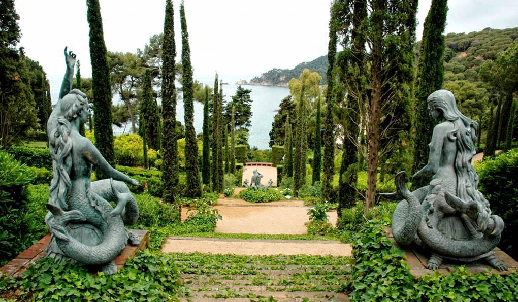 Сады Святой Клотильды, Коста-Брава