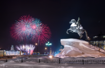 Новый год 2017 в Санкт-Петербурге