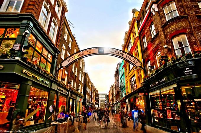 Carnaby Street, Лондон